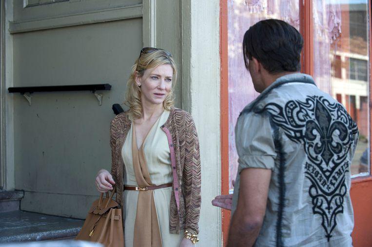Cate Blanchett in Blue Jasmine. Beeld ap