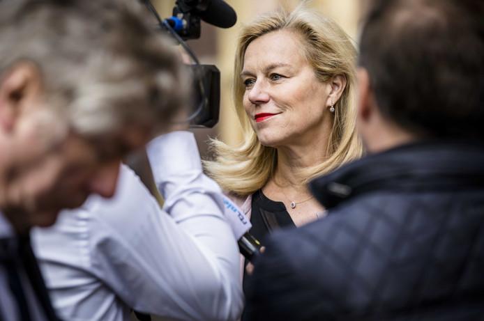 Minister Sigrid Kaag voor Buitenlandse Handel en Ontwikkelingssamenwerking (D66).