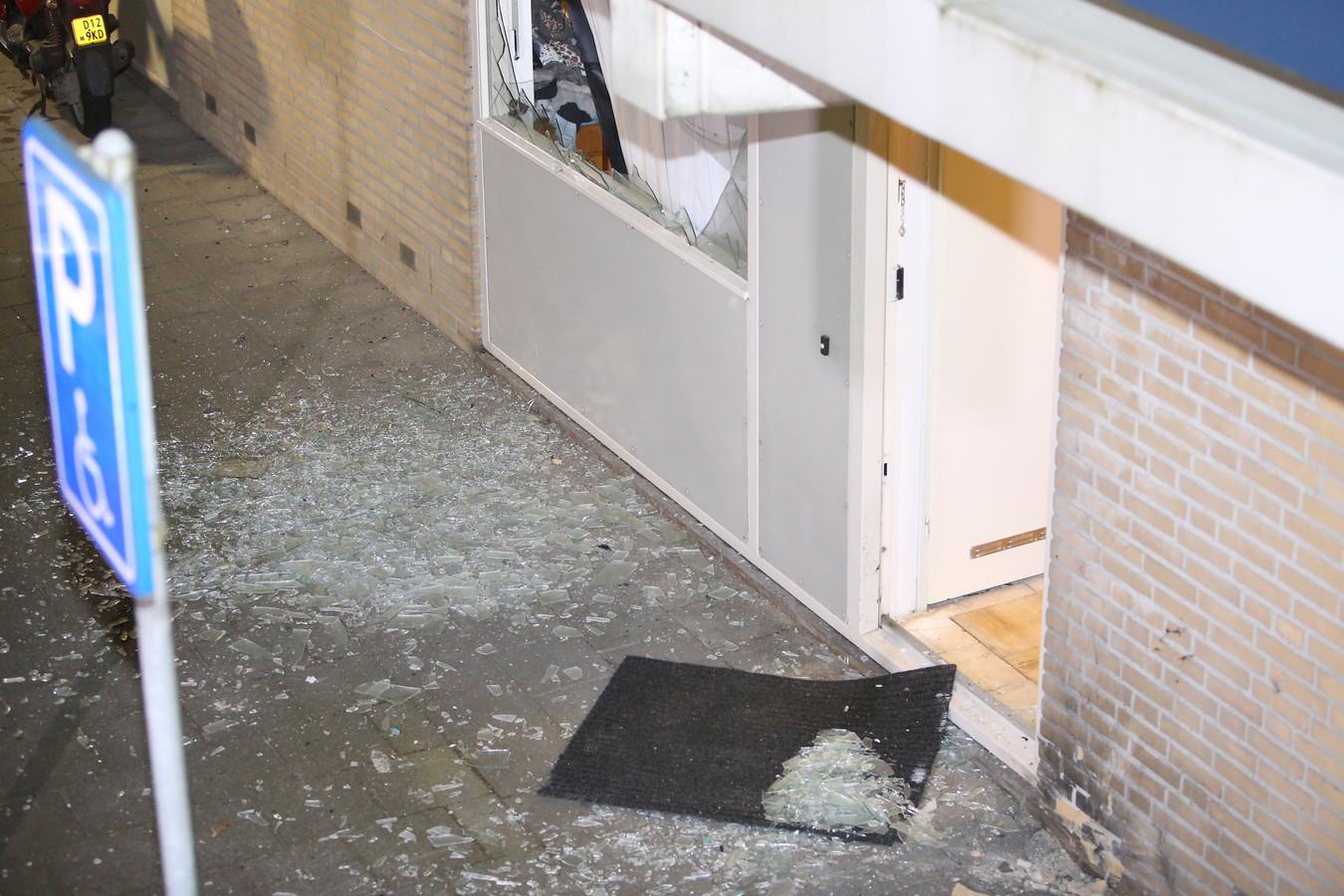 De schade na de explosie in Den Bosch.