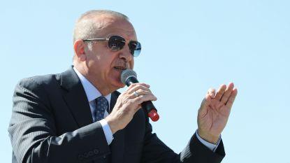 Erdogan negeert kritiek en toont opnieuw beelden aanslag Christchurch tijdens campagne