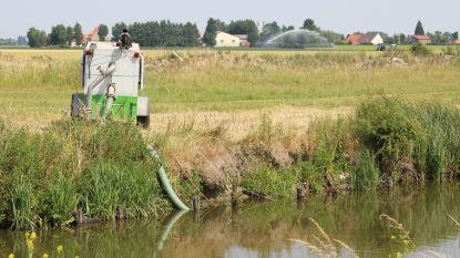 Uitzonderlijk vroeg oppompverbod voor verschillende waterlopen in West-Vlaanderen