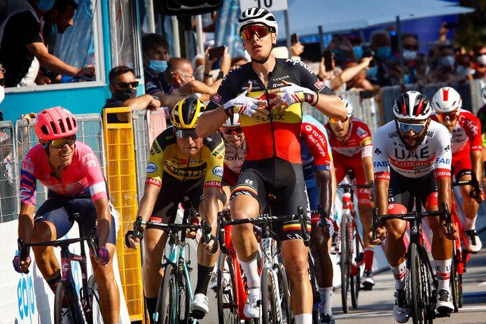 Merlier wint in Tirreno-Adriatico.