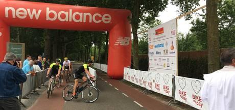 Raymon van der Biezen trapt Bike My Day af in Heeswijk