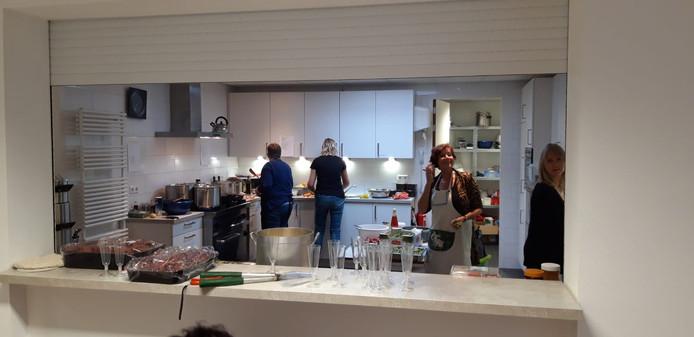 De geheel vernieuwde keuken van RestoRank.