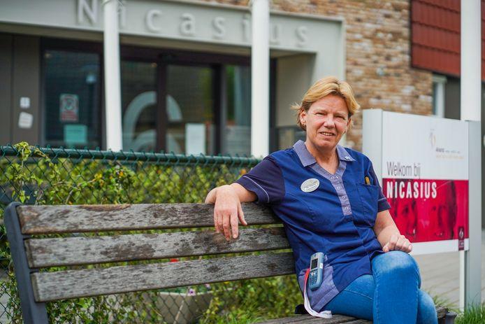 Ilse van Bommel werkt in verpleeghuis Nicasius in Heeze.
