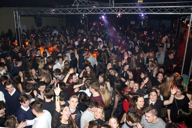 De Nieuwjaarsfuif in 't Vondel in Halle was vorig jaar een groot succes.