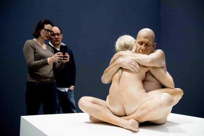 De tentoonstelling Hyperrealisme sculptuur scoorde enorm goed.