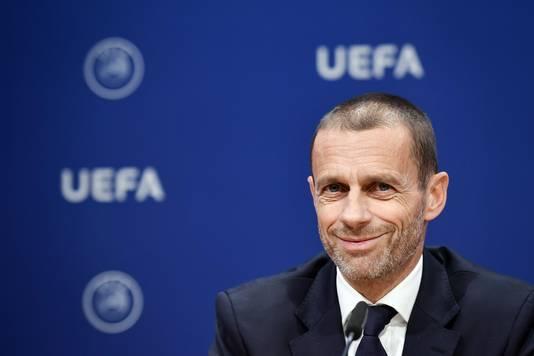 Aleksander Ceferin, president van UEFA.