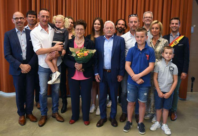 Gouden bruiloft van Johnny Anthoon en Léa Hennes uit Rotselaar