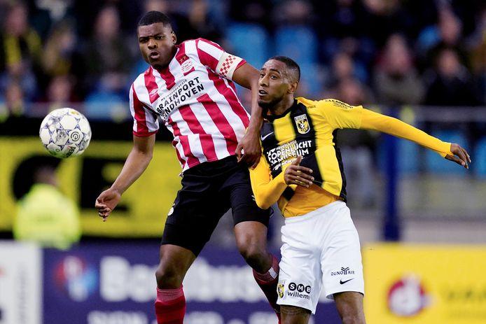 Joshua Brenet stond voor het eerst in de basis bij Vitesse.