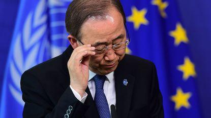 Ban Ki-moon sceptisch over Europese militaire operatie tegen mensensmokkelaars