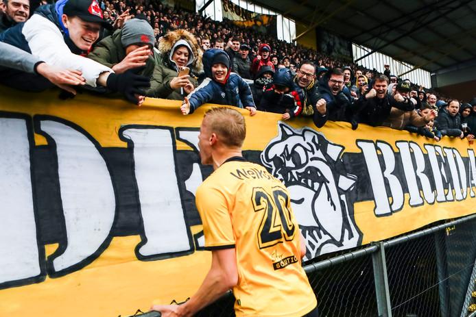 Jan Paul van Hecke scoorde zondag nog tegen Roda JC.