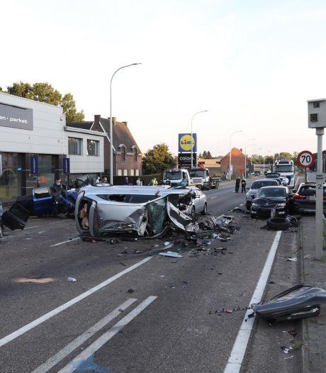 Deux blessés graves et 14 véhicules impliqués dans des accidents à Houthalen-Helchteren