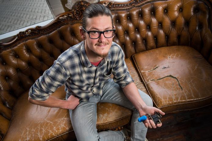 Gerrit Grootenhaar draagt zelf geen tatoeage, maar behoort wel tot de beste artiesten.
