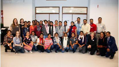 24 Indische verpleegkundigen bij Stfran in Leuven