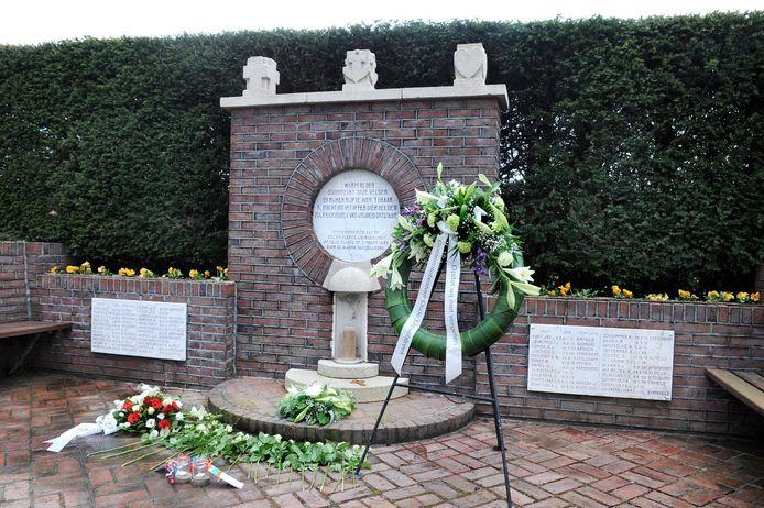 Het herdenkingsmonument Rademakersbroek bij Varsseveld.