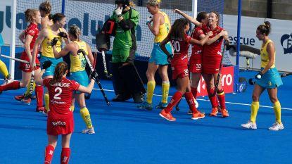 Red Lions opnieuw nummer één dankzij winst tegen Australië, ook Red Panthers winnen na shoot-outs