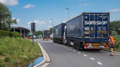 VPK en stadsbestuur zoeken oplossing tegen vrachtwagens in Varenbergstraat