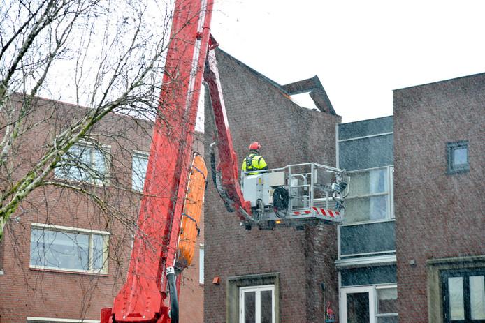 Stormschade in Breda.