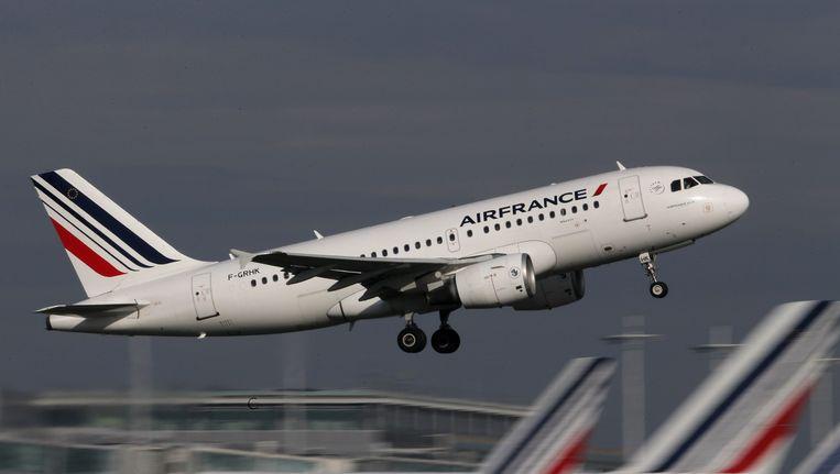 De piloten van Air France zijn van plan zaterdag te staken. Beeld reuters