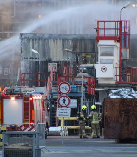 Brand bij Eastman Chemical in Middelburg