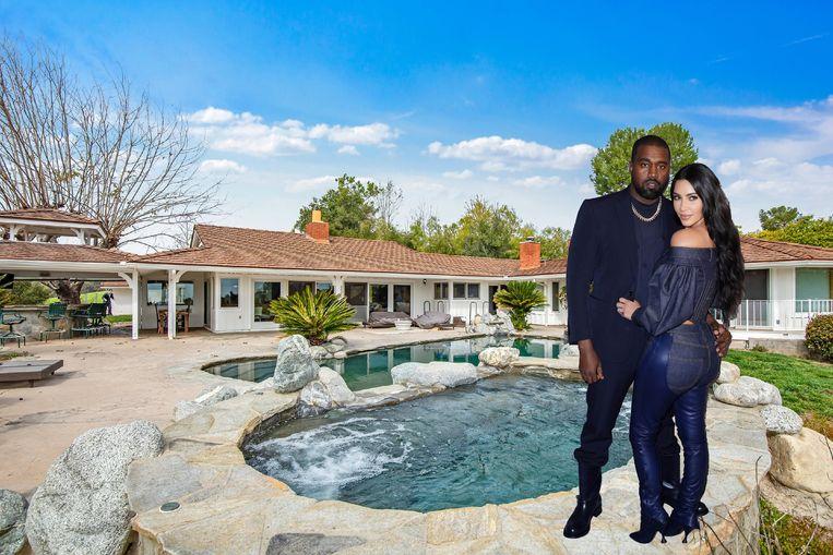 Kim en Kanye kochten een nieuw stulpje.
