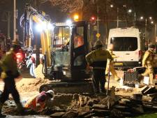 Sterke gaslucht bij Erasmusweg veroorzaakt door breuk in leiding