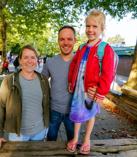 't Is weer voorbij die mooie zomervakantie: de eerste schooldag