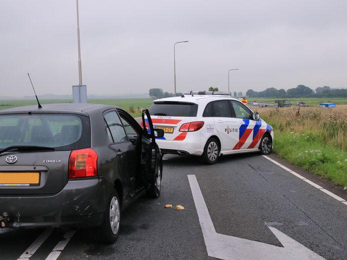 De achtervolging eindigde bij Nijkerk.