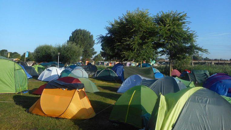 Op Camping Zeeburg zijn alleen vakantievierders welkom Beeld Camping Zeeburg