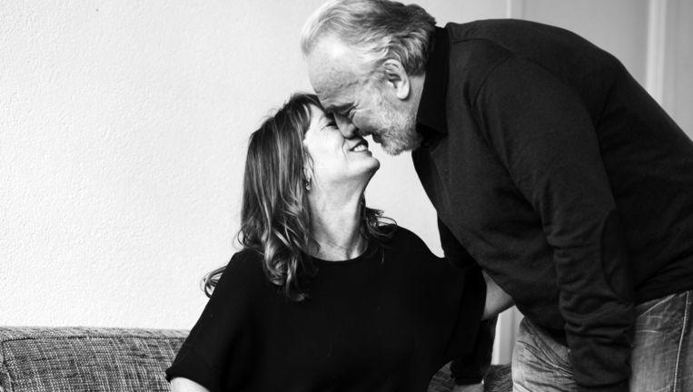 Irma Wijsman: 'Vooral de fysieke taal helpt mij en Michel nu dicht bij elkaar te blijven.' Beeld Linelle Deunk