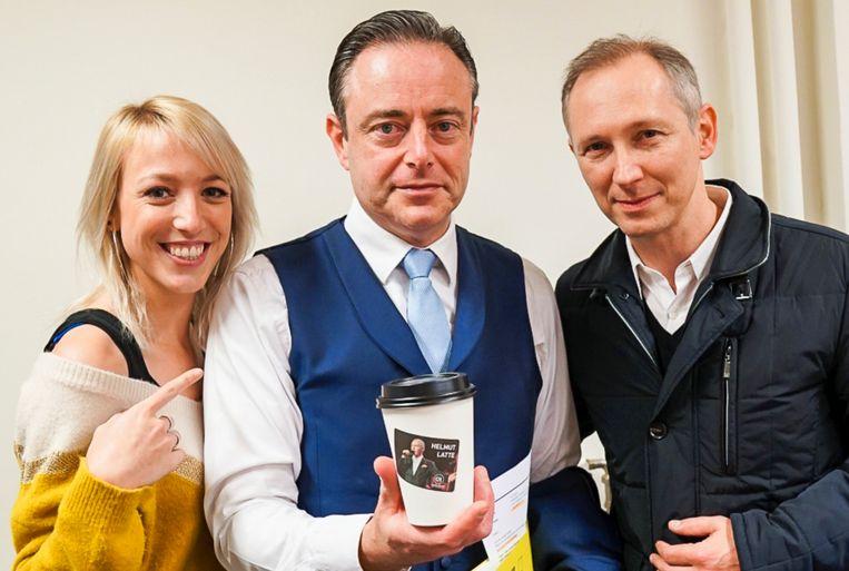 Bart De Wever lust ook wel een Helmut Latte.