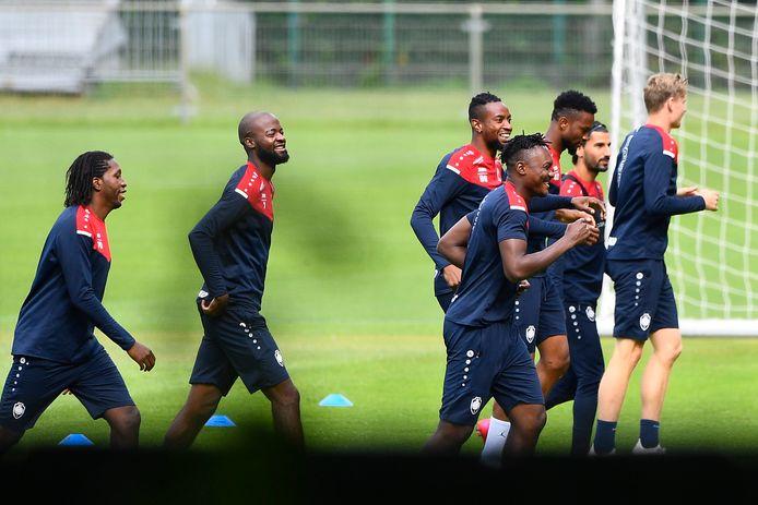 Les Anversois pourront-ils continuer à s'entraîner?