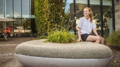Ontwerpster wint prijs met waterbench: zitbank, plantenbak en regenton in één