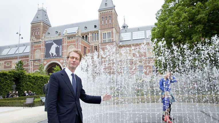 Taco Dibbits volgt volgende maand Wim Pijbes op als directeur van het Rijksmuseum. Beeld anp