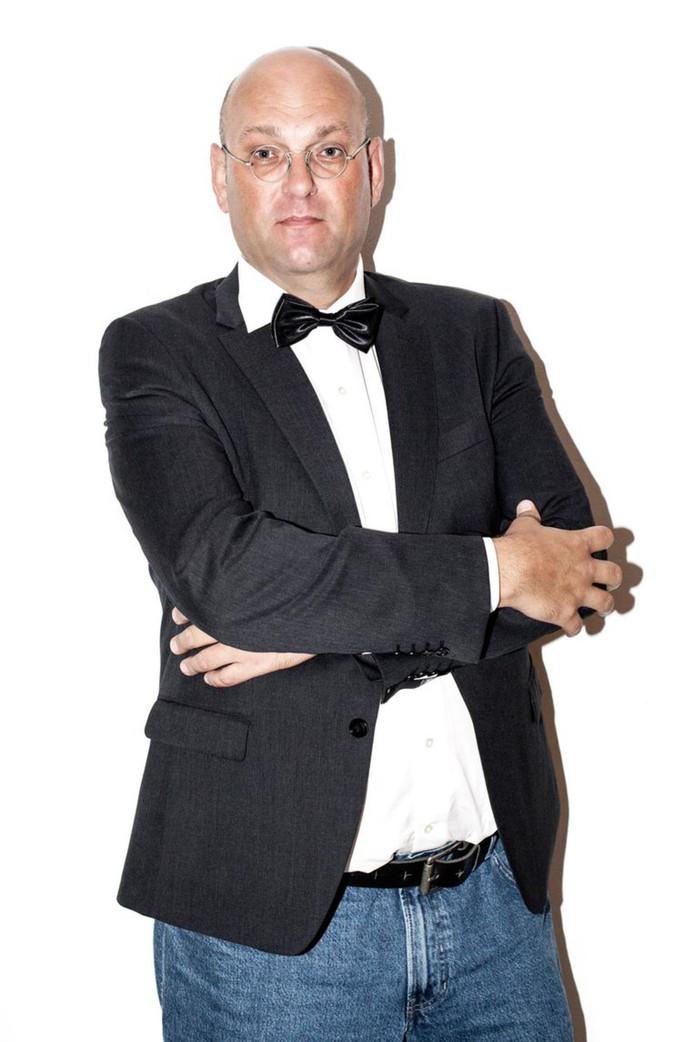 Schuimverslaggever Hans van der Beek
