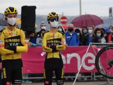 Tolhoek samen met Jumbo-Visma uit de Giro