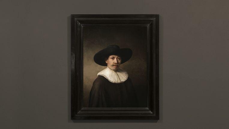 'The Next Rembrandt' Beeld J. Walter Thompson