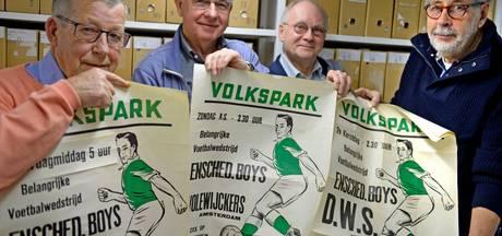 Posters, vaandels en bekers: 111 jaar historie Enschedese Boys verhuist naar stadsarchief