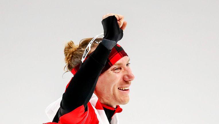 Ted-Jan Bloemen wint goud op de 10 kilometer Beeld anp