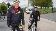 Ferdi Van Den Haute fietst voor Kom op tegen Kanker