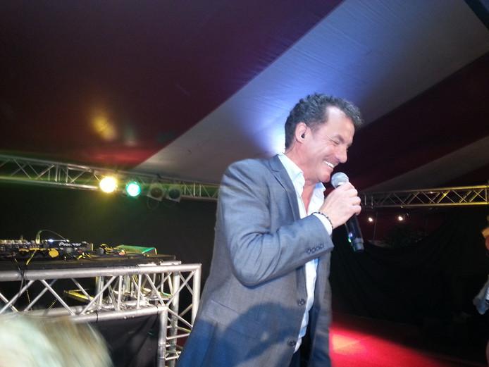 John de Bever stal de show in Empel bij een ander optreden eerder dit jaar.