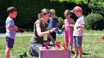 Kinderfeest in Het Molenhof met Cirkus in Beweging