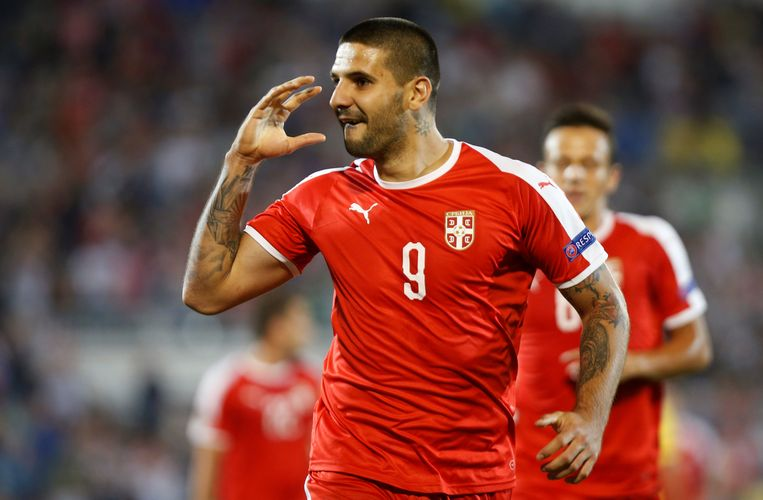 Mitrovic scoorde twee keer.
