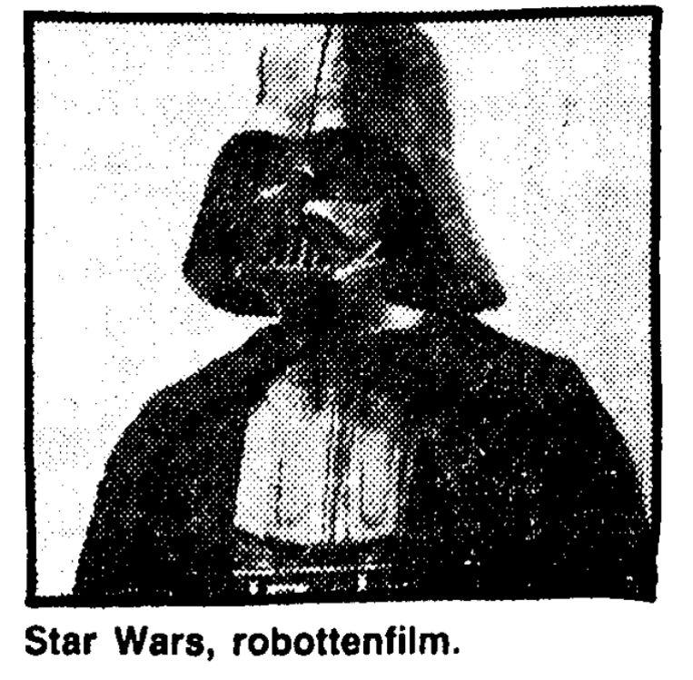 Uit de Volkskrant van 16 december 1977. Beeld
