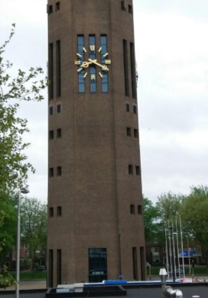 De klok op de Poldertoren staat stil