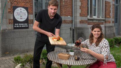 Gare C in Oudenaarde wordt Croq'etta: zomerse bar met kroketje in de hoofdrol