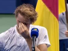 Zverev craque lors de la cérémonie en évoquant ses parents infectés par le Covid