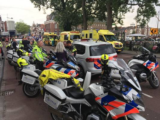 Hulpdiensten zijn uitgerukt nadat meerdere hardlopers onwel werden tijdens de Leiden Marathon
