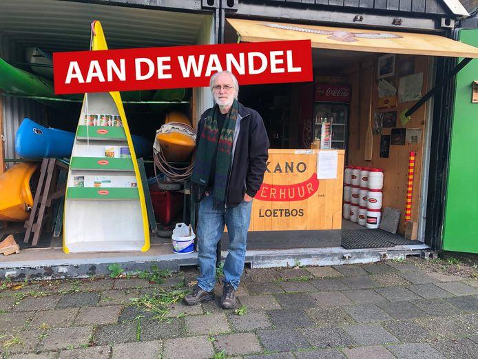 Rob van Geijn, eigenaar van kanocentrum Loetbos